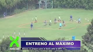 Alianza Lima se prepara para el duelo ante Vallejo