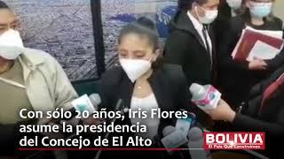 IRIS, LA JOVEN PRESIDENTA EL ALTO