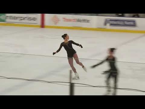 Mirai Nagasu Hits Triple Axel, No. 1 - 2018 US Nationals, Ladies' FS Practice