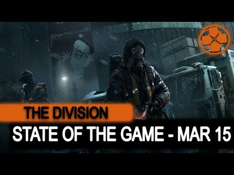 The Division 🔴 State of the Game | March 15, 2018 | PTS Onslaught Global Event | Ansel Support