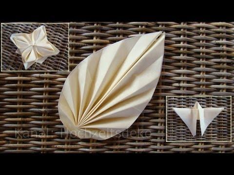 Download youtube to mp3 origami marque place et for Youtube hochzeitsdeko