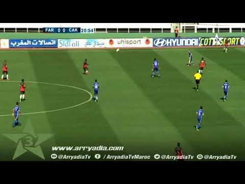 الجيش الملكي 1-0 شباب خنيفرة هدف إبراهيم البزغودي