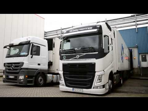 First road in 2014. New Volvo FH.