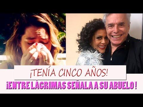 Frida Sofia confiesa que  la TOCÓ su abuelo Enrique Guzman