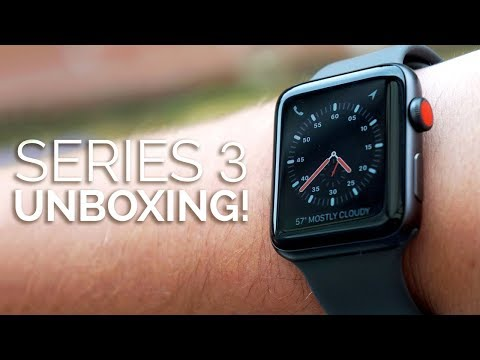 Apple Watch Series 3 Unboxing & First Impressions