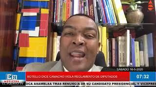 DE PEDRO BOTELLO A RADHAMES CAMACHO