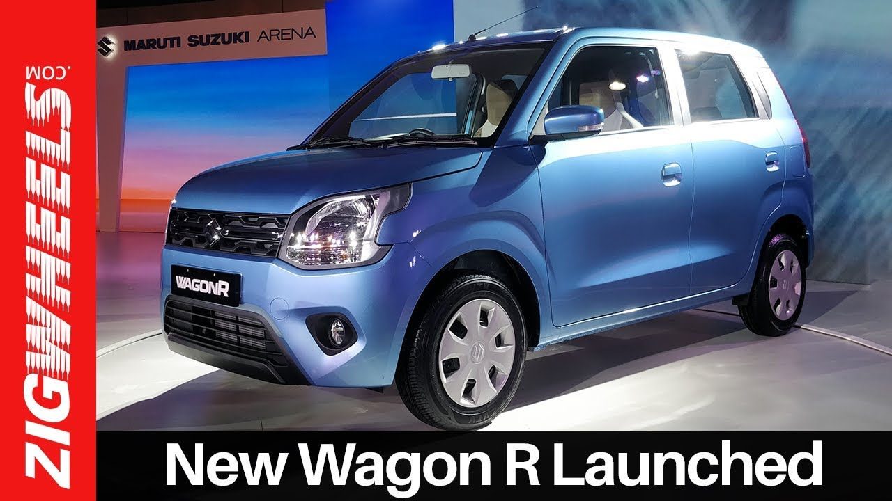 New Wagon R 2019 Launch Walkaround Review | Price, Colours, Interior & More | ZigWheels