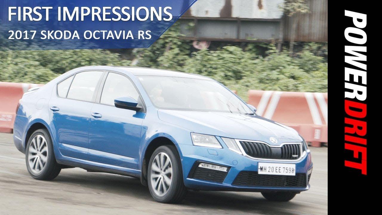 Skoda Octavia RS : First Impressions : PowerDrift
