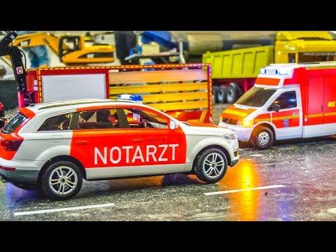 RC Car Crash! Big Rescue Action!