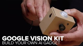 Google AIY Vision Kit teaches you to track faces