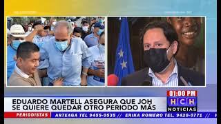 """Martell asegura que JOH sustituirá a """"Papi"""", """"Toño"""" Rivera asegura es """"una locura"""""""
