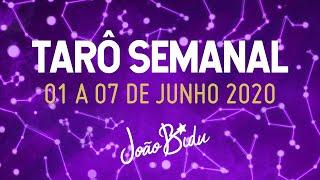PREVISÕES DO TARÔ PARA A SEMANA 01 A 07 DE JUNHO com Ikaro Lopez | POR JOÃO BIDU