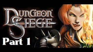 Dungeon Siege 1 Playthrough Part 1 (No Commentary)
