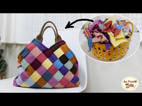 Make-beautiful-bag-from-fabric