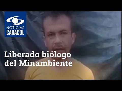 Liberado biólogo del Minambiente que había sido secuestrado en San Vicente del Caguán