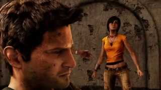Uncharted 2: Among Thieves - PS4 Walkthrough #3 - The Nathan Drake Collection