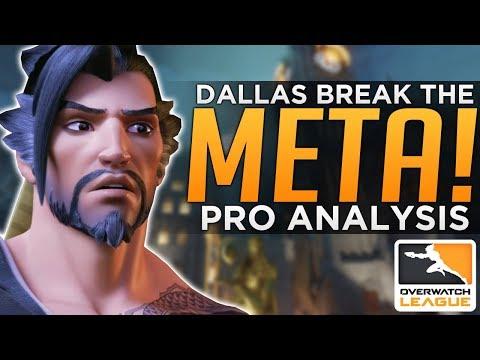 connectYoutube - Overwatch: Dallas Fuel Break The META! - Crazy PRO Team Comps