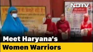 Protecting Haryana's Women Coronavirus Warriors - NDTV