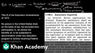 Rule making and discretionary authority of the federal bureaucracy