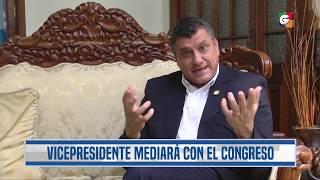 Coronavirus: Vicepresidente buscará apoyo de diputados para iniciativas contra la pandemia