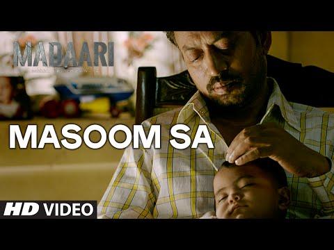 Masoom Sa Lyrics - Madaari | Sukhwinder Singh