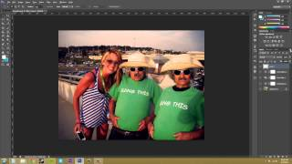 Photoshop CS6 Tutorial - 72 - Composite Images from Adjustment