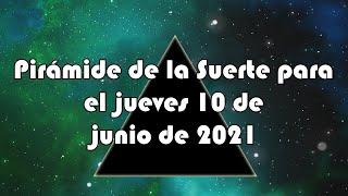 Lotería de Panamá - Pirámide para el jueves 10 de junio de 2021