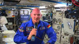 European Astronaut Answers Questions from Space