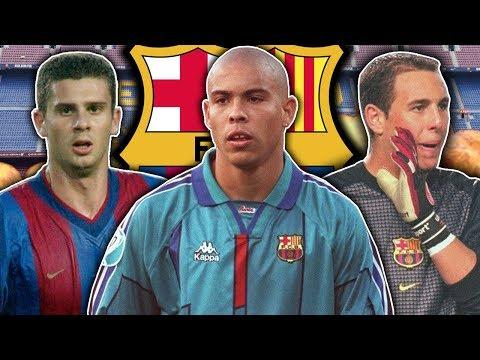 10 Players You Forgot Played For Barcelona | Ronaldo, Motta & Di Stefano