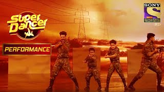 दोनों Aakash, Vivek और Rishikesh के Army Act को मिली शाबाशी   Super Dancer Chapter 2 - SETINDIA