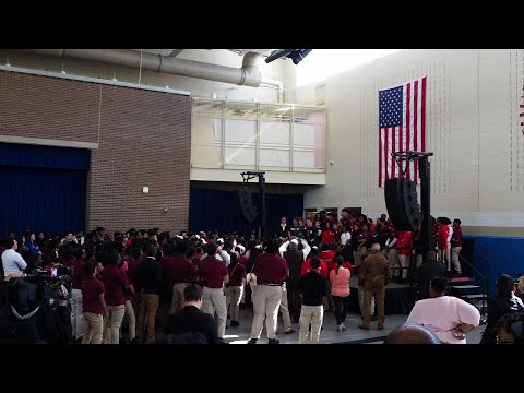 Parkland Students Visit DC School for Rally