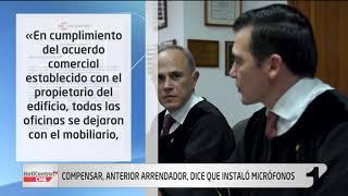 La versión de Compensar sobre micrófonos hallados en oficinas del magistrado César Reyes