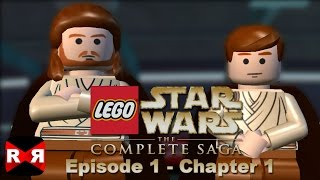 LEGO Star Wars: The Complete Saga - Episode 1 Chp. 1 - iOS / Android - Walkthrough Gameplay