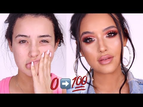 connectYoutube - 0 to 100: FULL COVERAGE MAKEUP TRANSFORMATION