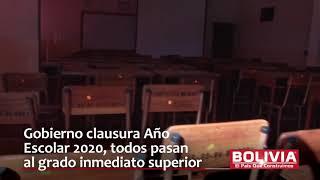 GOBIERNO CLAUSURA AÑO ESCOLAR