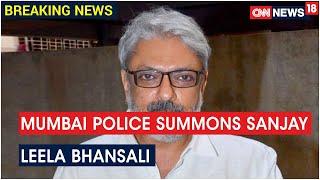 Mumbai Police To Question Director Sanjay Leela Bhansali Over Sushant Rajput's Suicide Case Probe - IBNLIVE