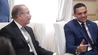 Directivos de ANJE visitan a Danilo Medina y valoran como completo discurso de rendición de cuentas