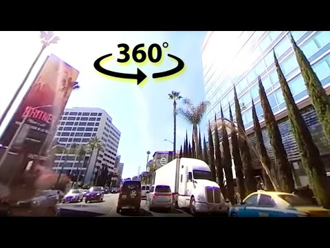 Sunset blvd 360 Drive || #YT360Day