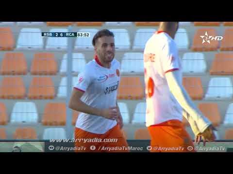 نهضة بركان 3-6 الرجاء البيضاوي محمد عبدالله