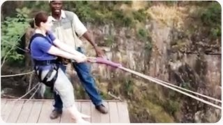 Gorge Swing At Victoria Falls | Longest Swing Ever