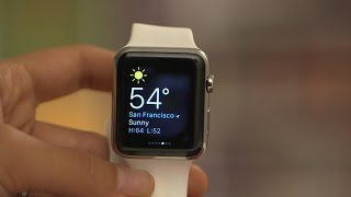 Use Glances on your Apple Watch