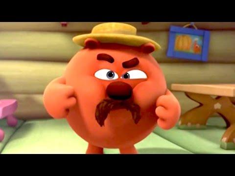 Кадр из мультфильма «Смешарики. Новые приключения. Настоящий медведь»