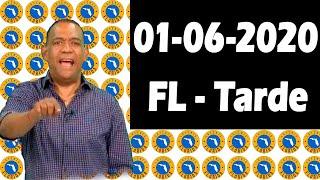 Resultados y Comentarios La Florida Tarde (Loteria Americana) 01-06-2020 (CON JOSEPH TAVAREZ)