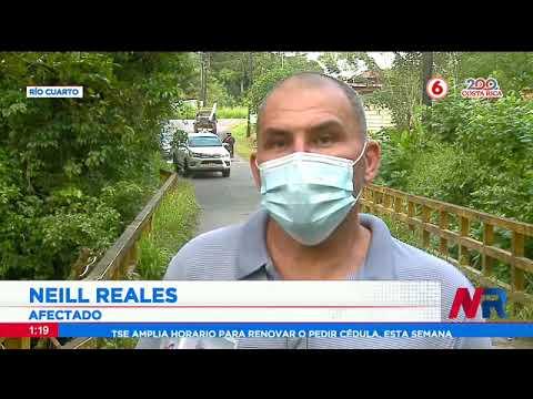 Vecinos temen accidentes por puente a punto de colapsar en Río Cuarto