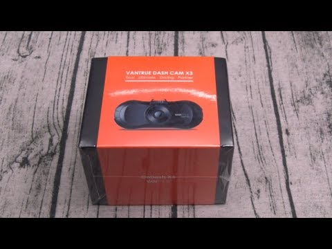 Vantrue X3 WiFi Dash Camera