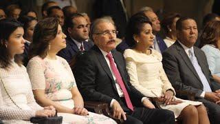 Danilo Medina y Cándida Montilla de Medina, acuden a misa Día Nuestra Señora de la Altagracia