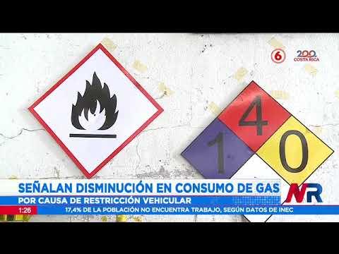 Señalan disminución en consumo de gas por causa de restricción vehicular