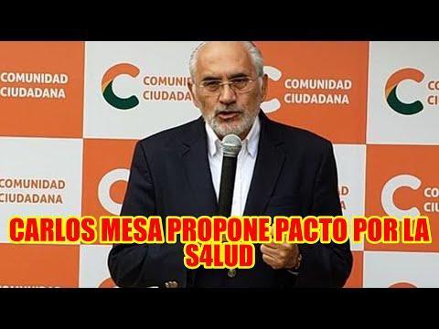 CARLOS MESA PROPONE POSTERGAR EL RECLUT4MIENTO DEL SERVICIO MILITAR Y POSTERG4R LAS ELECCIONES..
