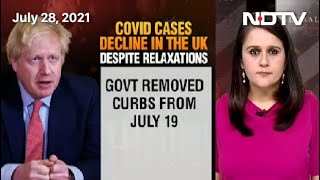Covid Cases Decline In UK Despite Relaxations | Coronavirus: Facts vs Myths - NDTV