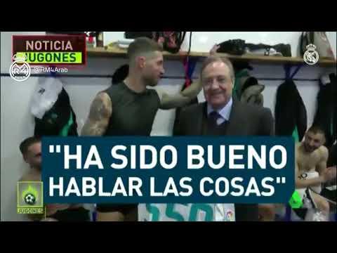 راموس يبلغ الإدارة بقراره: أنا باق في ريال مدريد وسأعتزل هنا